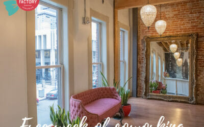 Free week of Coworking at Candy Factory Coworking on July 26-30!